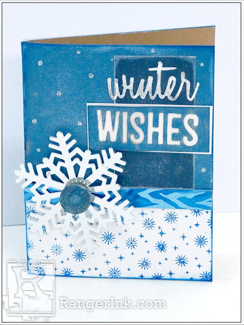 Winter Wishes Card by Patti Behan