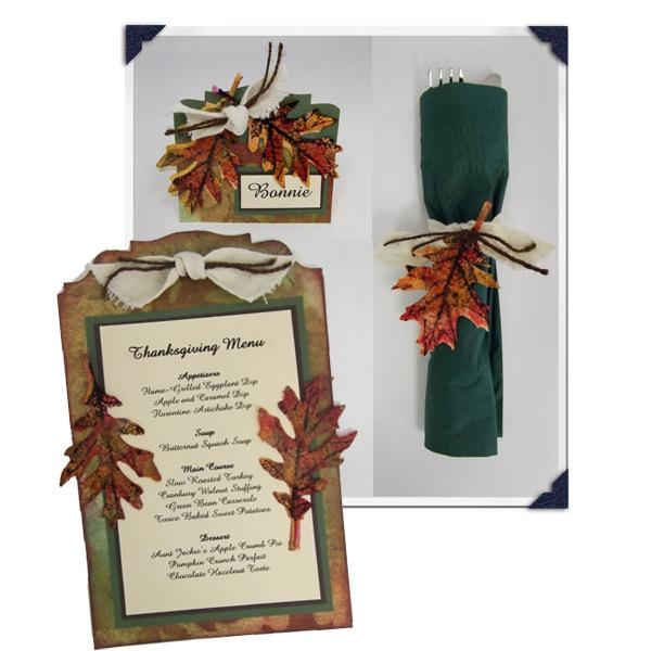 Color Wash Thanksgiving Table Setting By Patti Behan