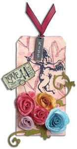 """Love of Distress"" Tag By Tim Holtz"