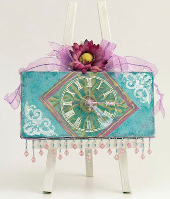 BeesWax Batik Clock By Patti Behan
