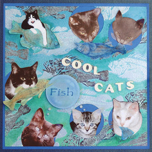 Cool Cats Scrapbook Page By Debbie Tlach
