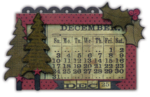 Distress Ink Countdown to Christmas By Wendy Vecchi
