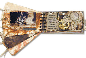 Distressed Tag Journal By Tim Holtz