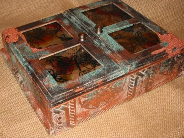Patina'ed Display Box By Lauren Ferguson-Nwachukwu