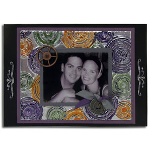 Metal Foil Tape Picture Frame By Arlene Stump