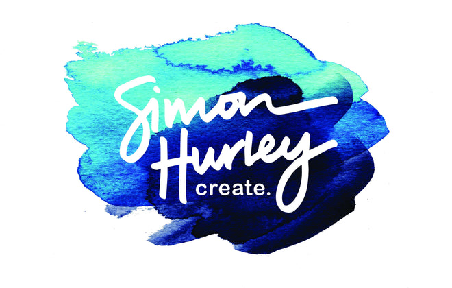 Simon Hurley create. Card making Supplies