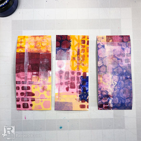 Handmade Greeting Cards Mixed Media Style by Josefine Fourage Step 4