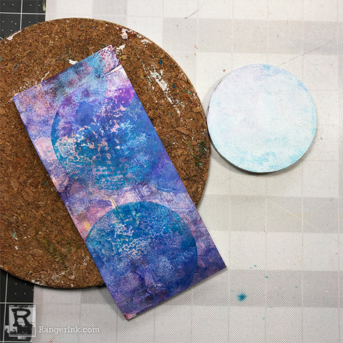 Handmade Greeting Cards Mixed Media Style by Josefine Fourage Step 6