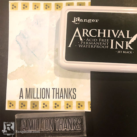 Wendy Vecchi A Million Thanks Card by Cassie Lynch Step 7