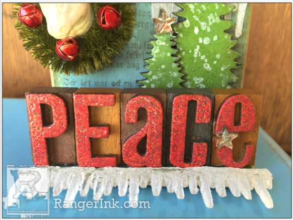 A Little Holiday Art By Wendy Vecchi
