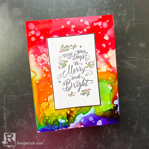 Christmas Card Stash by Cheiron Brandon