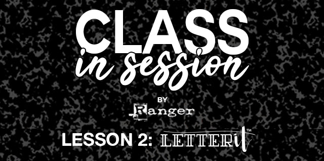 Class in Session by Ranger Letter It