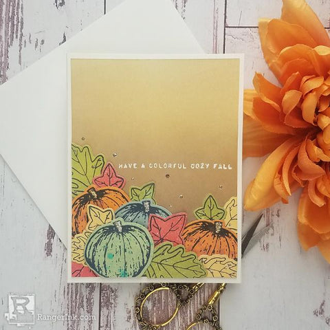 Colorful Fall Card by Joy Baldwin