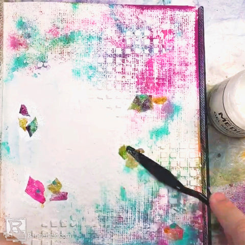 Creating a Cohesive Two-Page Art Journal Step 4