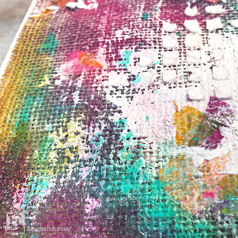 Creating a Cohesive Two-Page Art Journal Step 6