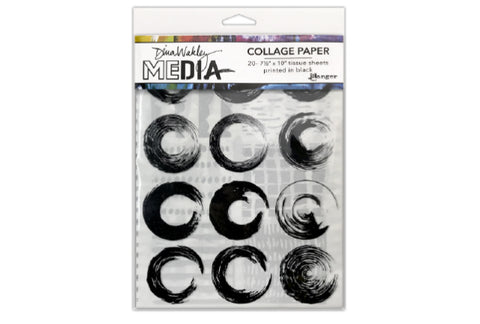 Dina Wakley MEdia Collage Paper