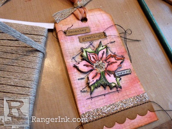 December Greetings Gift Tags by Audrey Pettit | www.rangerink.com