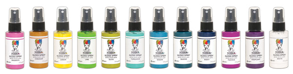 DW Media Gloss Sprays