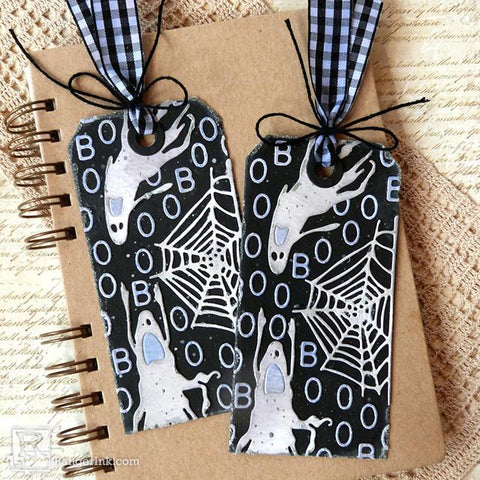 Boo Halloween Tags by Audrey Pettit