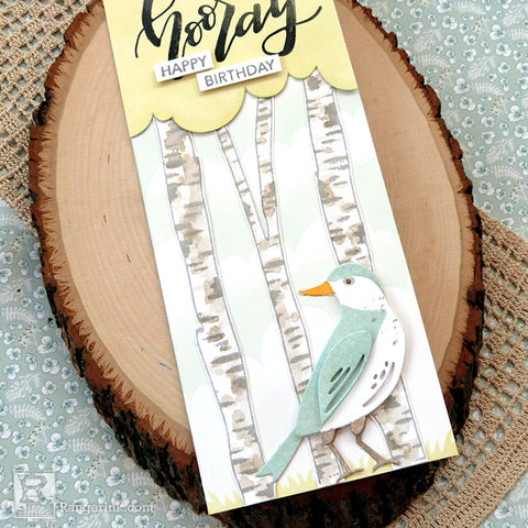 Distress® Hooray Happy Birthday Card Beauty 2