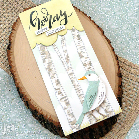 Distress® Hooray Happy Birthday Card Beauty 4