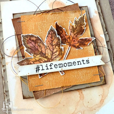 Distress Life Moments Card