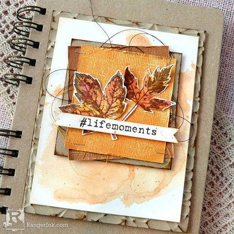 Life Moments Distress Card Beauty 4