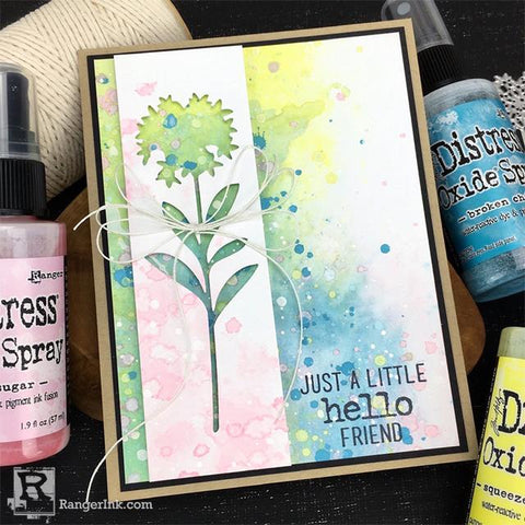 Just a Little Hello Friend Card by Bobbi Smith