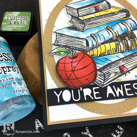 Distress Back to School You're Awesome Card