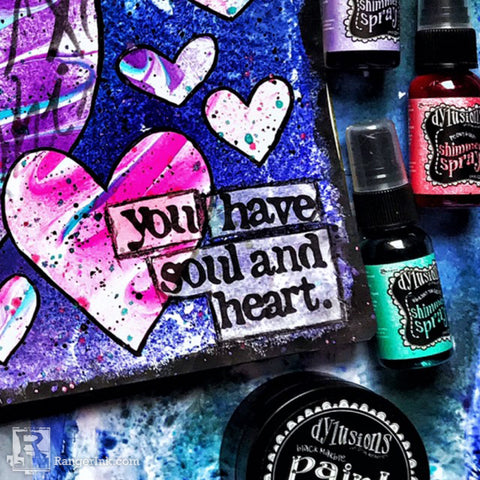 Dylusions Heart and Soul Journal Page Final