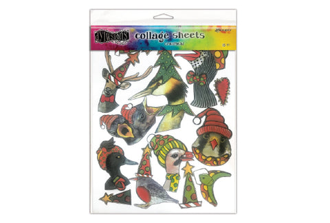 Dylusions Christmas Collage Sheets