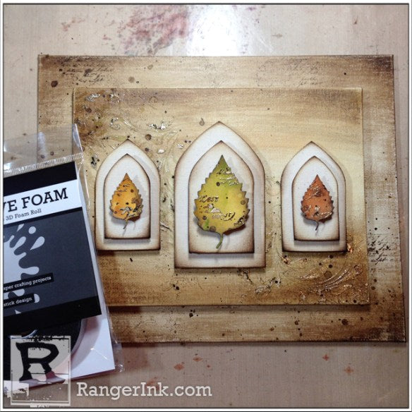 Fall Triptych by Bobbi Smith