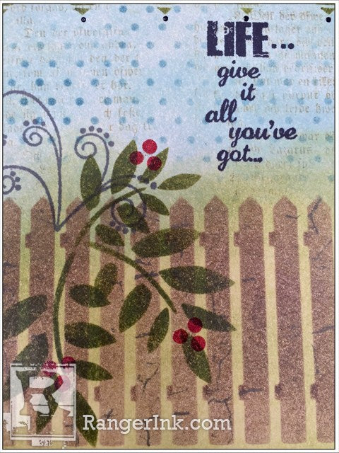 Give It All You've Got Card By Wendy Vecchi   www.rangerink.com