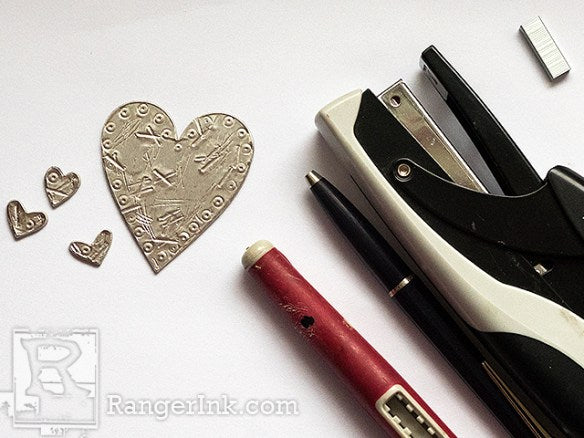 Heart Butterfly Tag by Anna-Karin Evaldsson | www.rangerink.com