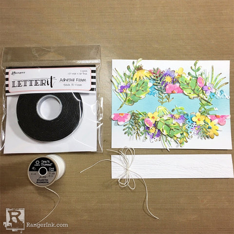 Hello Spring Distress Oxide Card by Bobbi Smith Step 9