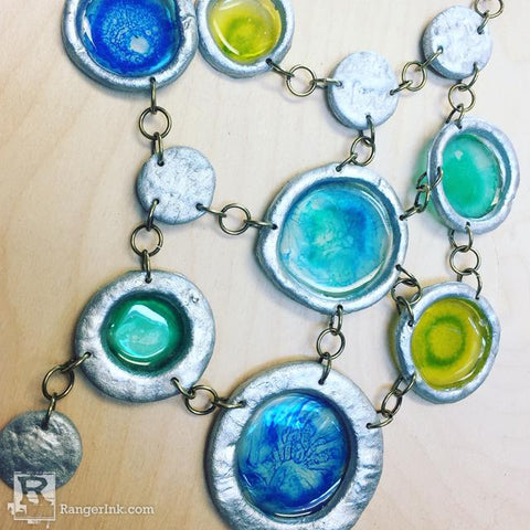 ICE Resin QuickCure Clay Necklace