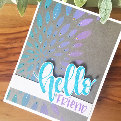 Hello Friend Card by Joy Baldwin