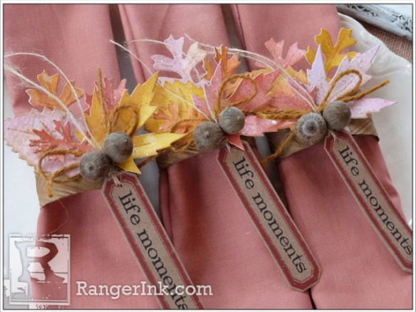Life Moments Napkin Rings by Audrey Pettit | www.rangerink.com