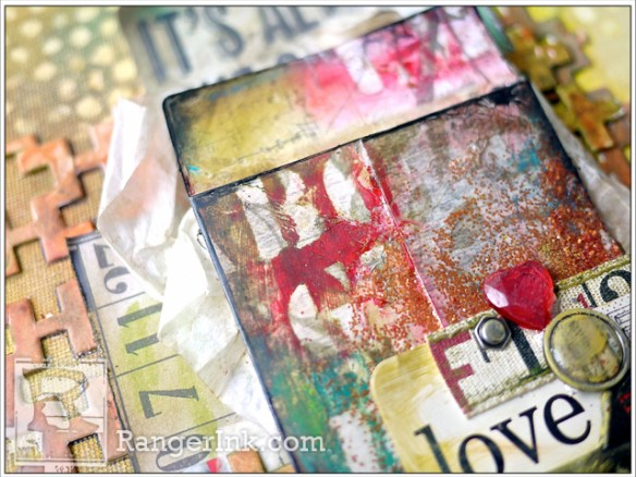 Love Mixed Media by Aida Haron