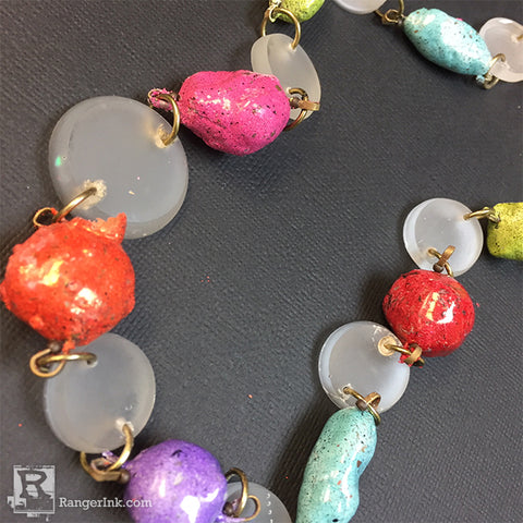 ICE Resin QuickCure Clay Enamel Bead Necklace