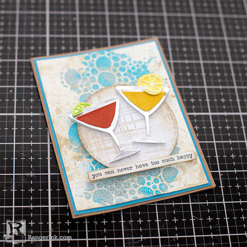 Distress® Never Too Much Happy Card Step 10