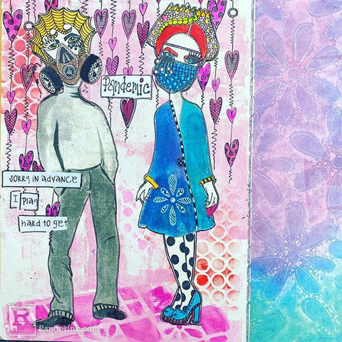 Pandemic Love by Milagros Rivera