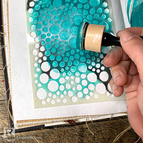 Jamie Doughtery Quick Cure Clay Journal Step 1