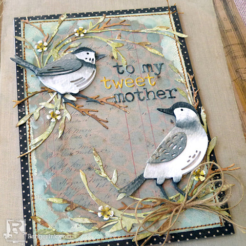 To My Tweet Mother Card by Audrey Pettit Beauty 4