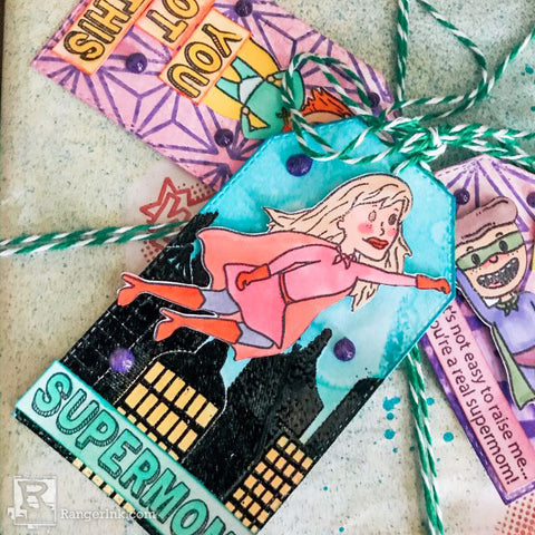 SH Create Supermom Gift Wrap