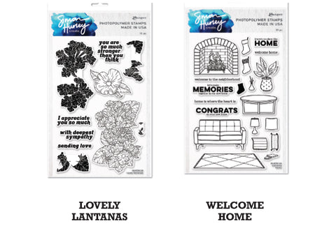 Simon Hurley create. Clear Stamps