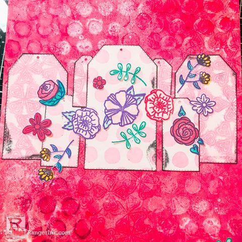 Simon Hurley create. Doodle Floral Journal Step 8