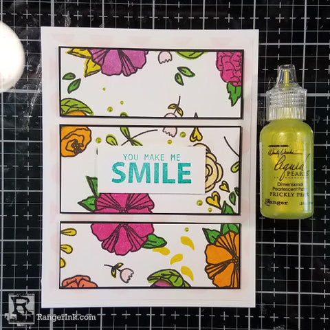 Simon Hurley create. You Make Me Happy Card Step 5