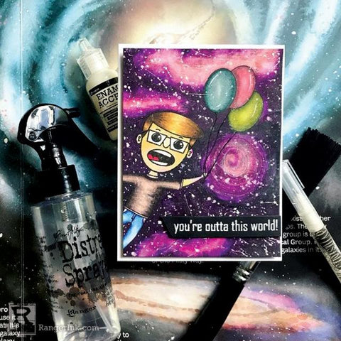You're Outta This World Card by Jess Francisco
