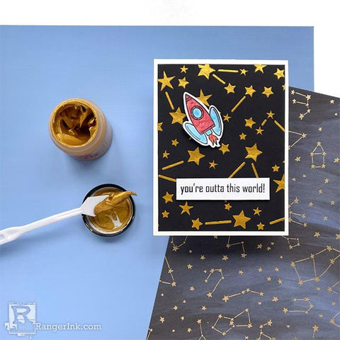 Simon Hurley create. Outta This World Card by Jess Francisco